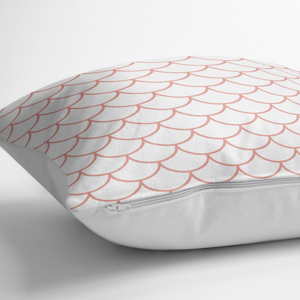Mürdüm Renkli Geometrik Desenli Dijital Bakılılı Yastık Kılıfı Realhomes