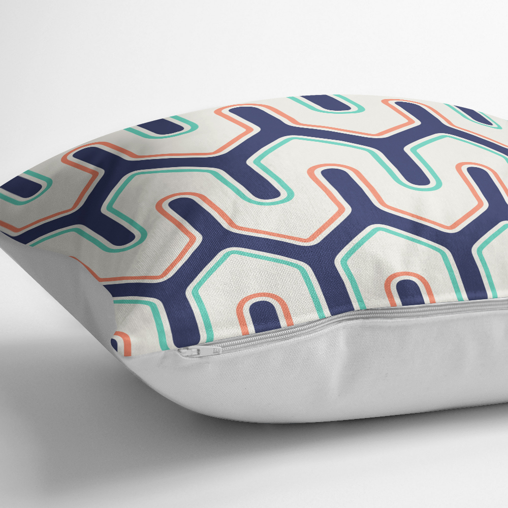 Livense Özel Tasarım Dijital Baskılı Modern Yastık Kırlent Kılıfı Realhomes