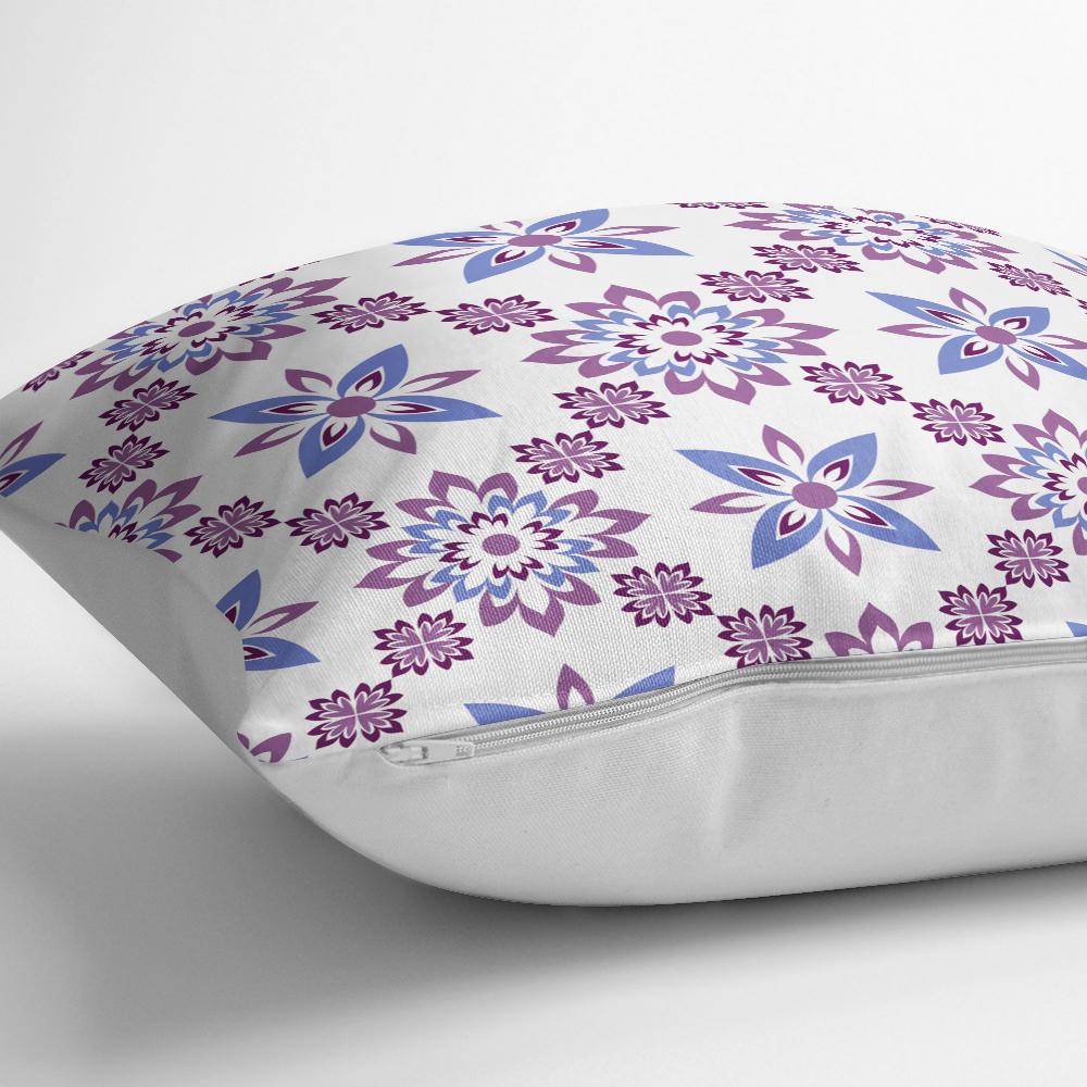 Özel Tasarım Çiçek Resimli Dijital Bakılı Modern Yastık Kılıfı Realhomes