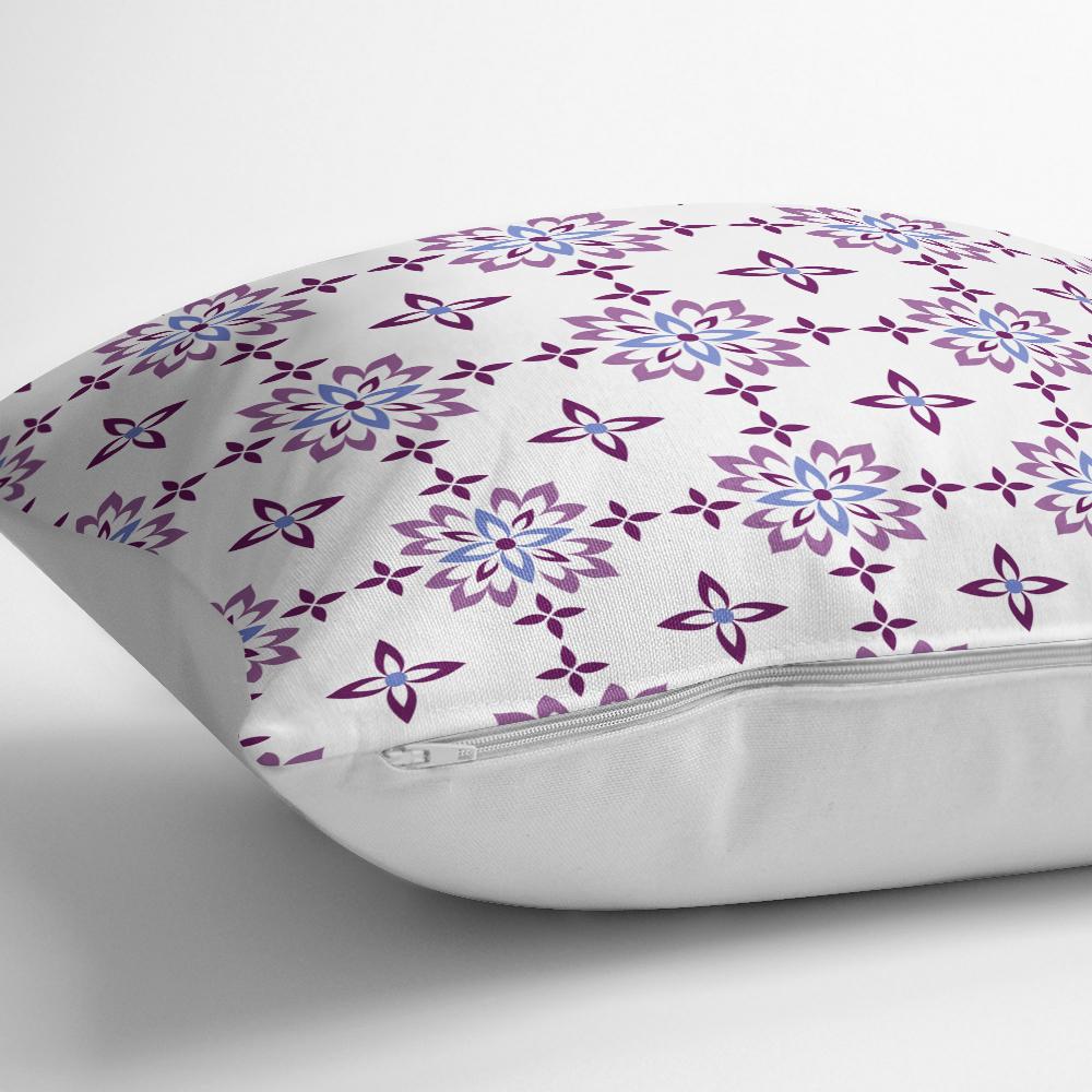 Çiçek Temalı Dijital Baskılı Dekoratif Yastık Kırlent Kılıfı Realhomes
