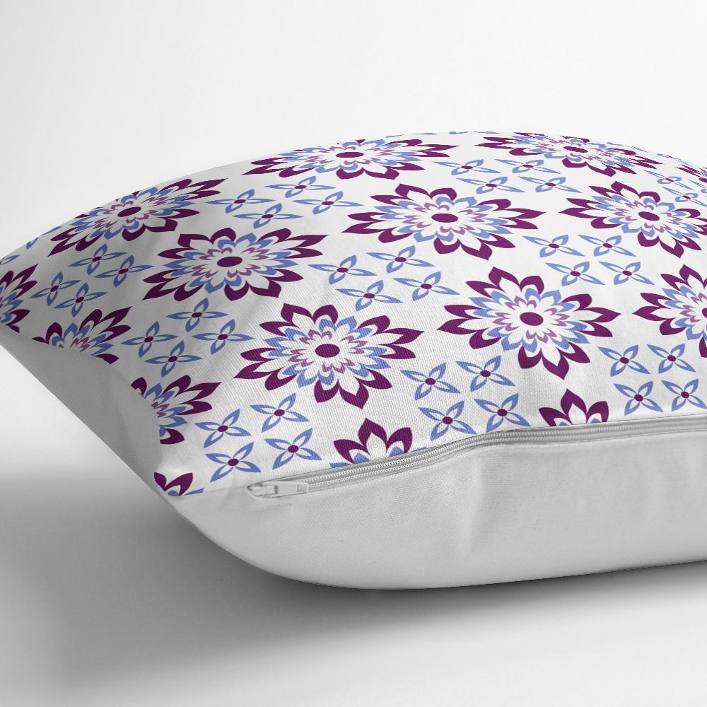 Modern Çiçek Resimli Dijital Baskılı Dekoratif Yastık Kılıfı Realhomes