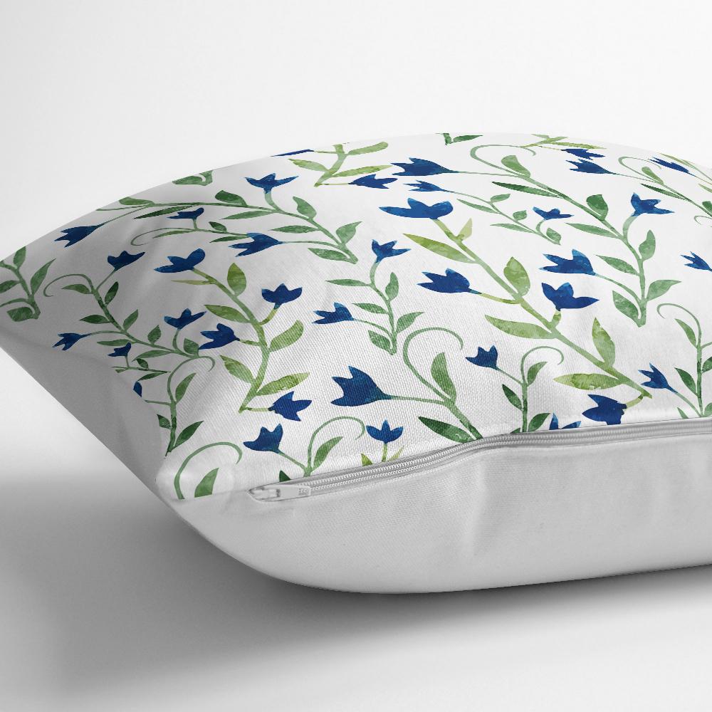 Özel Tasarım Çiçek Desenli Dijital Baskılı Modern Yastık Kılıfı Realhomes