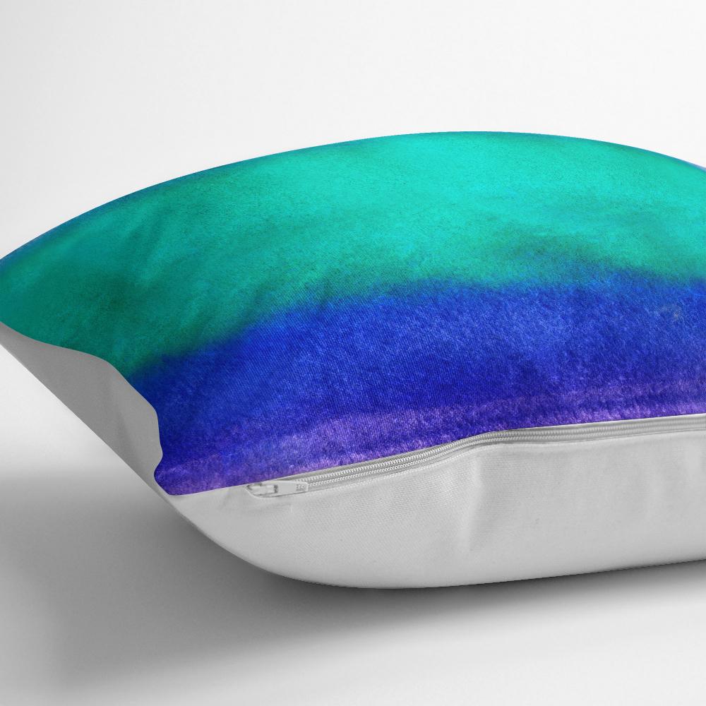 Gökkuşağı Renkli Dijital Baskılı Modern Kırlent Kılıfı Realhomes