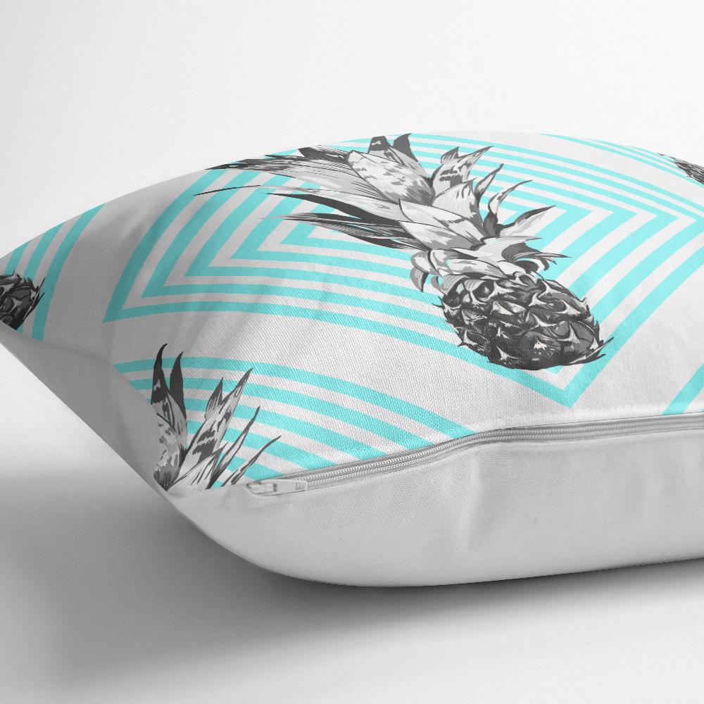 Geometrik Ananas Desenli Dkeoratif Yastık Kırlent Kılıfı Realhomes