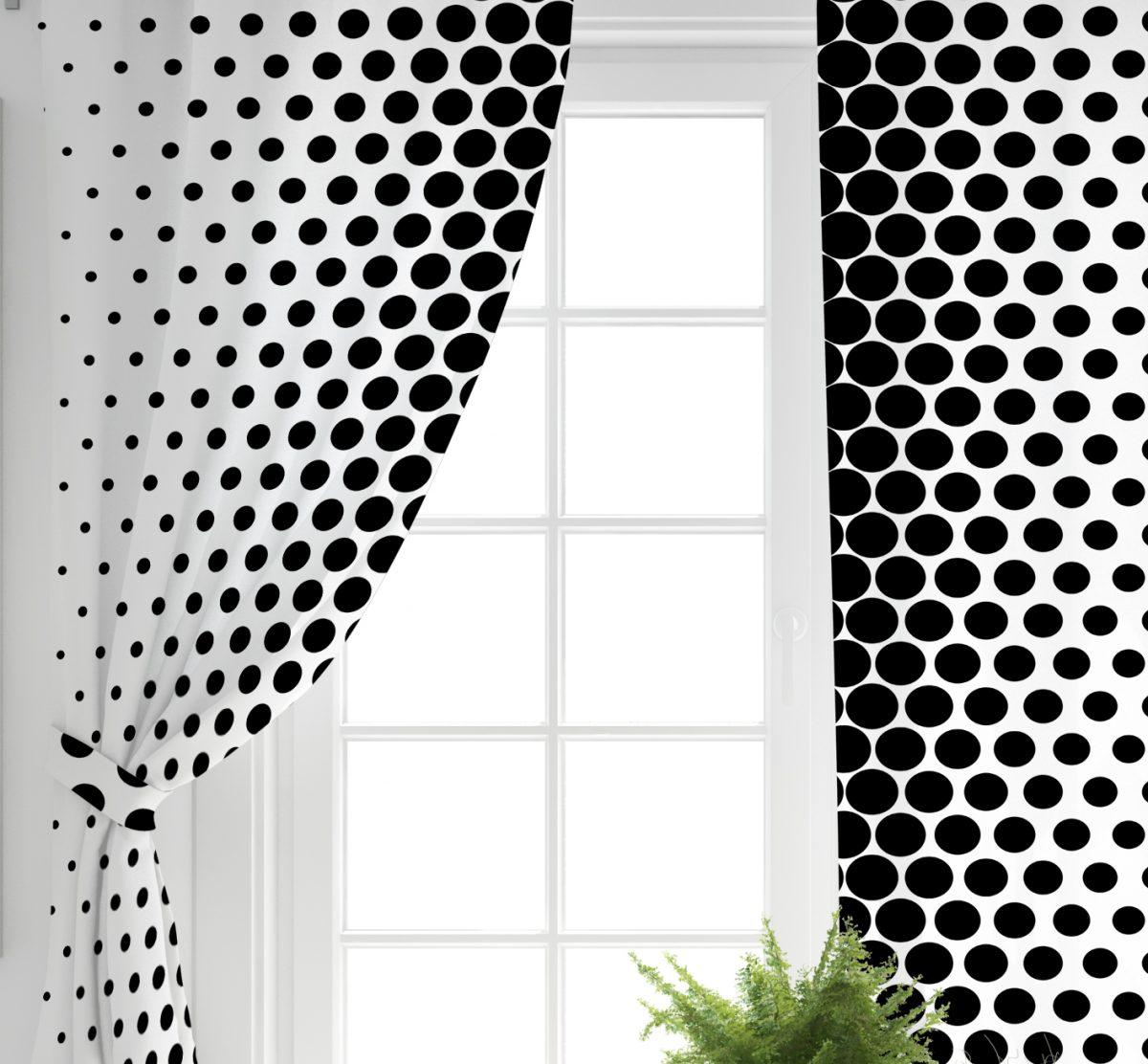 RealHomes Geometrik Desenli Dijital Baskılı 3D Fon Perde Realhomes
