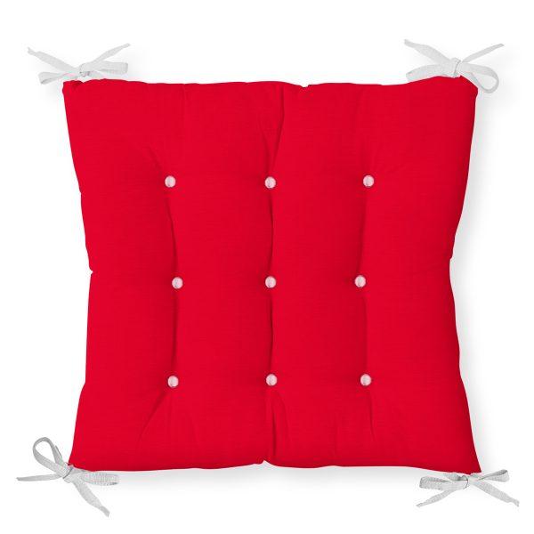 RealHomes Özel Tasarım Düğmeli Pofidik Sandalye Minderi Realhomes
