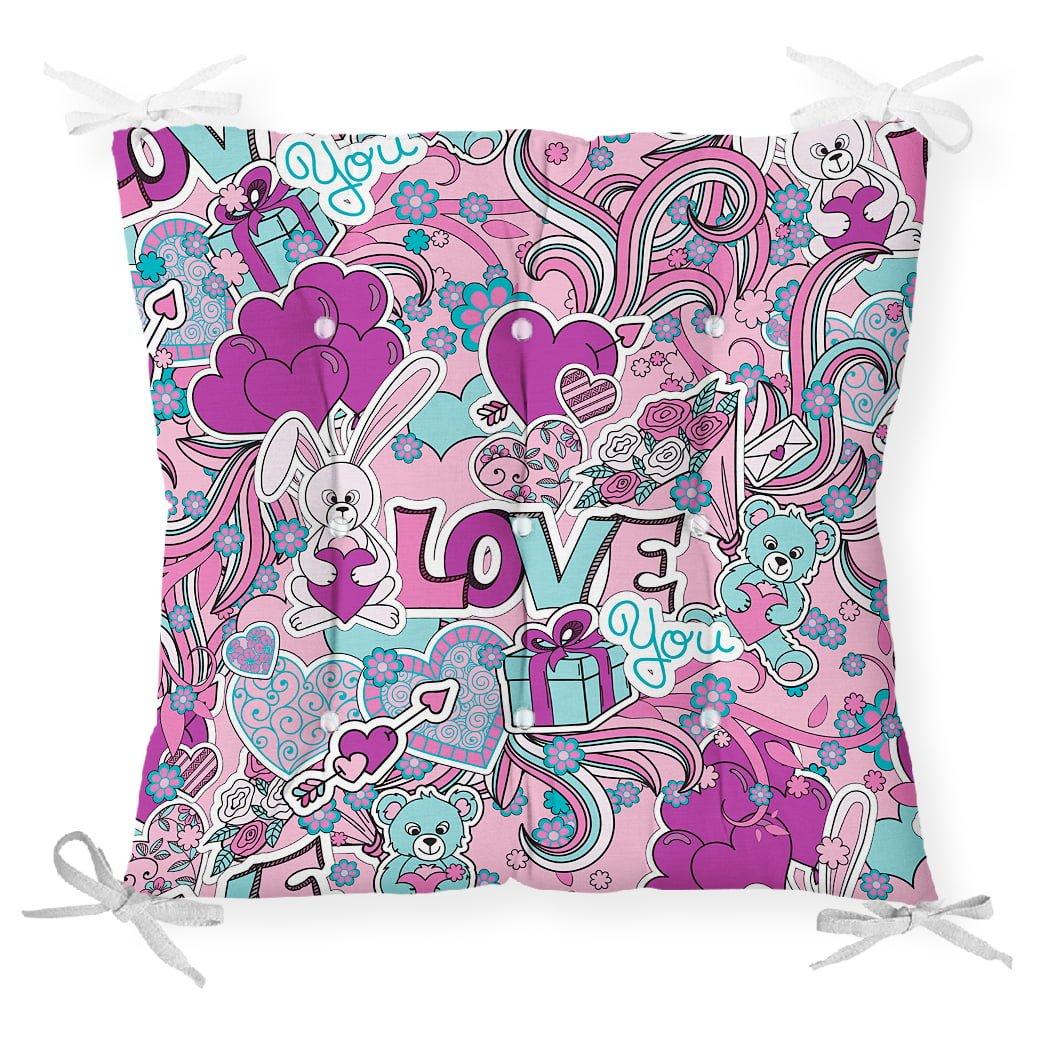Love You Özel Tasarımlı Çocuk Odası Pofidik Sandalye Minderi Realhomes