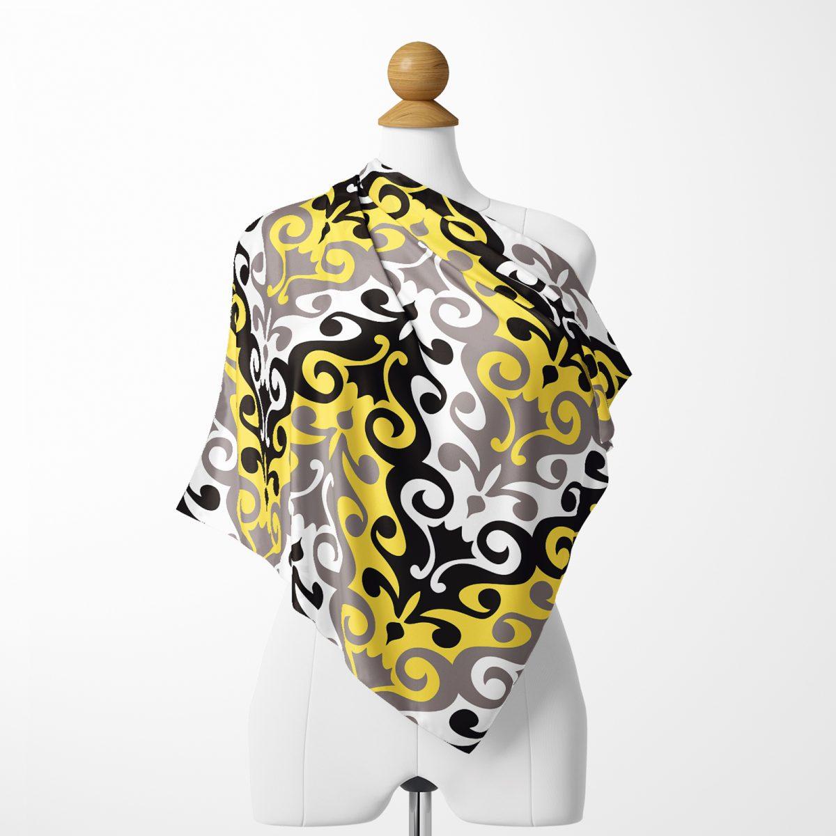 Realhomes Özel Seri Dijital baskılı Modern Tivil Eşarp Realhomes