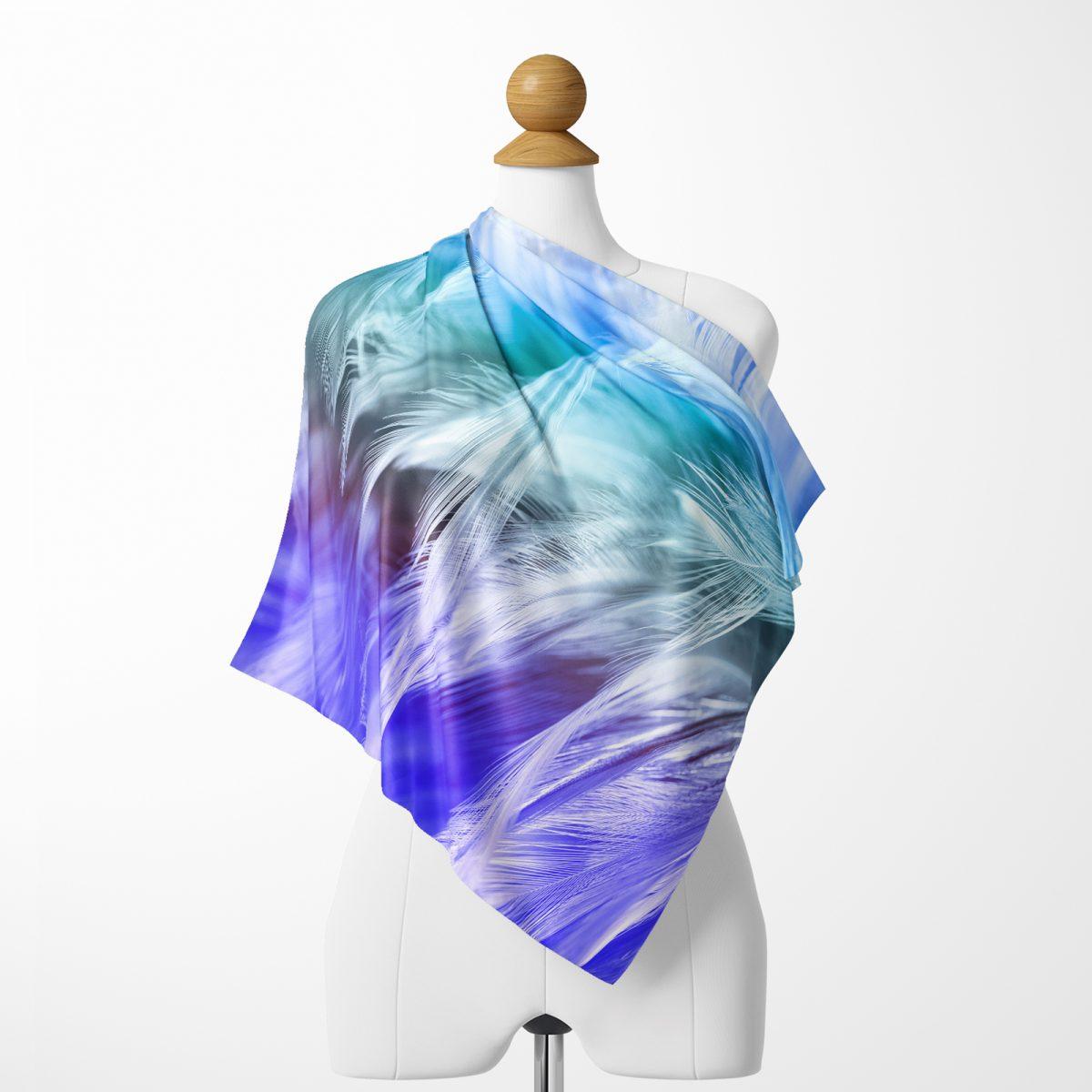 RealHomes Moda Özel Tasarım Dijital Baskılı Modern Tivil Eşarp Realhomes