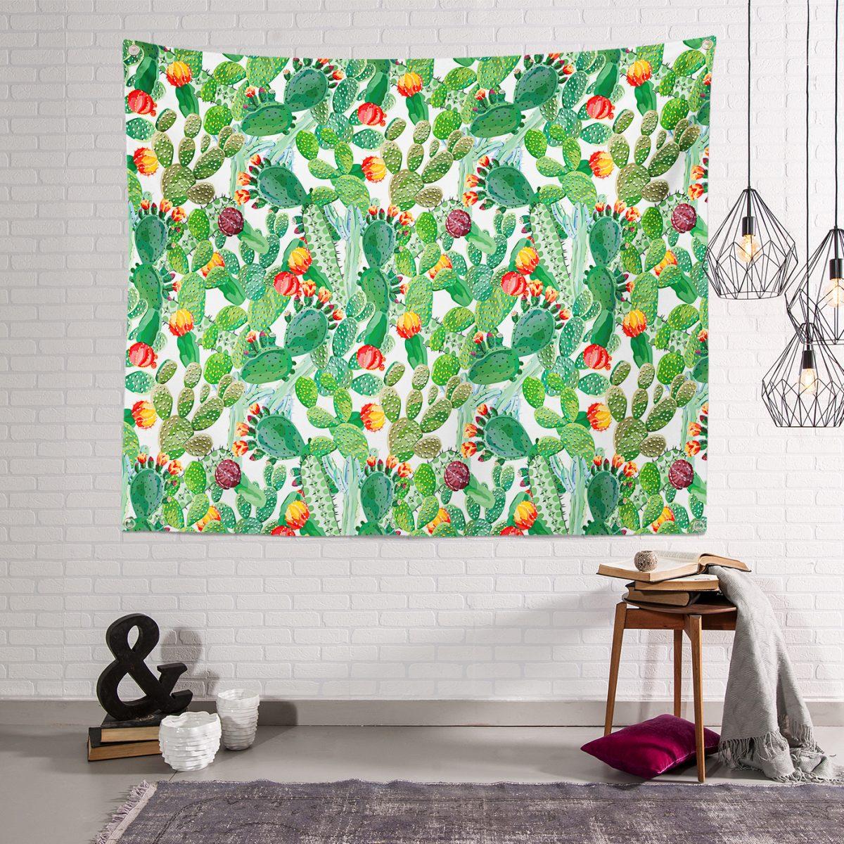 RealHomes Özel Tasarımlı Dijital Baskılı Modern Tasarım Tapestry Duvar Örtüsü Realhomes
