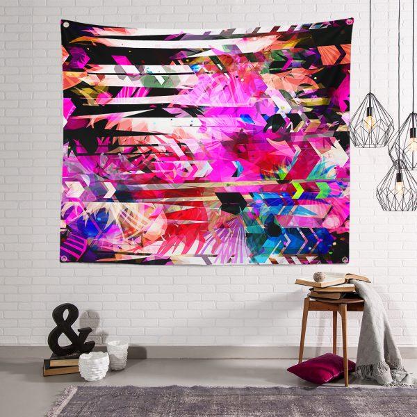 Realhomes Moda Özel Seri Dijital baskılı Modern Tapestry Duvar Örtüsü Realhomes