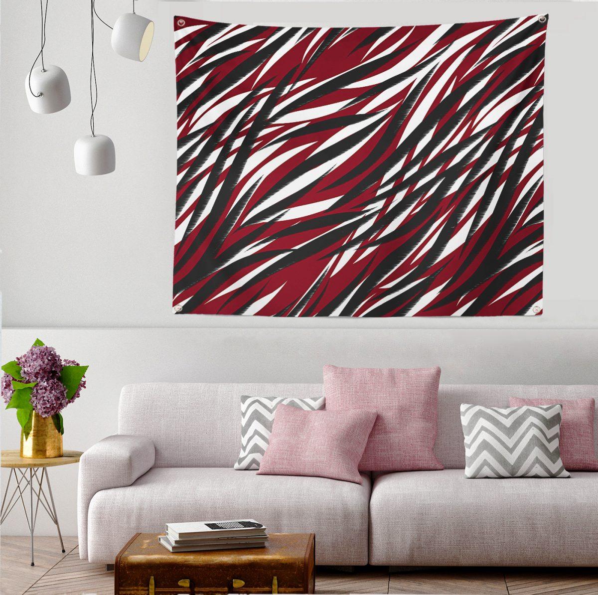 Modern Rüzgar Esintisi Özel Tasarım Tapestry Duvar Örtüsü Realhomes