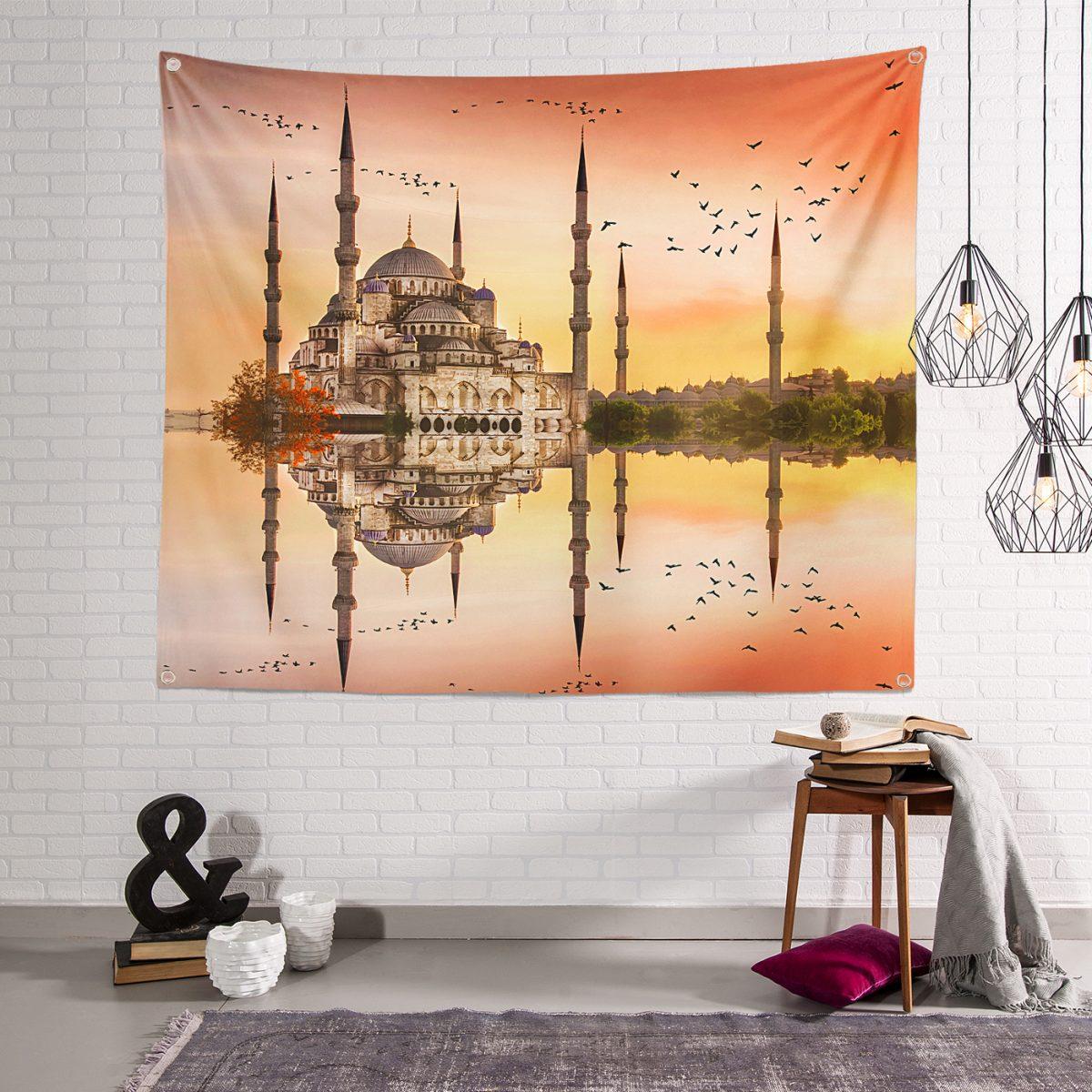 3D Sultan Ahmet Cami RealHomes Duvar Örtüsü Realhomes