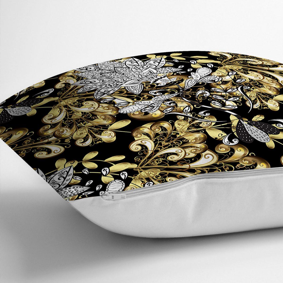 Realhomes Özel Tasarım Dijtal Baskılı Modern Yastık Kırlent Kılıfı Realhomes