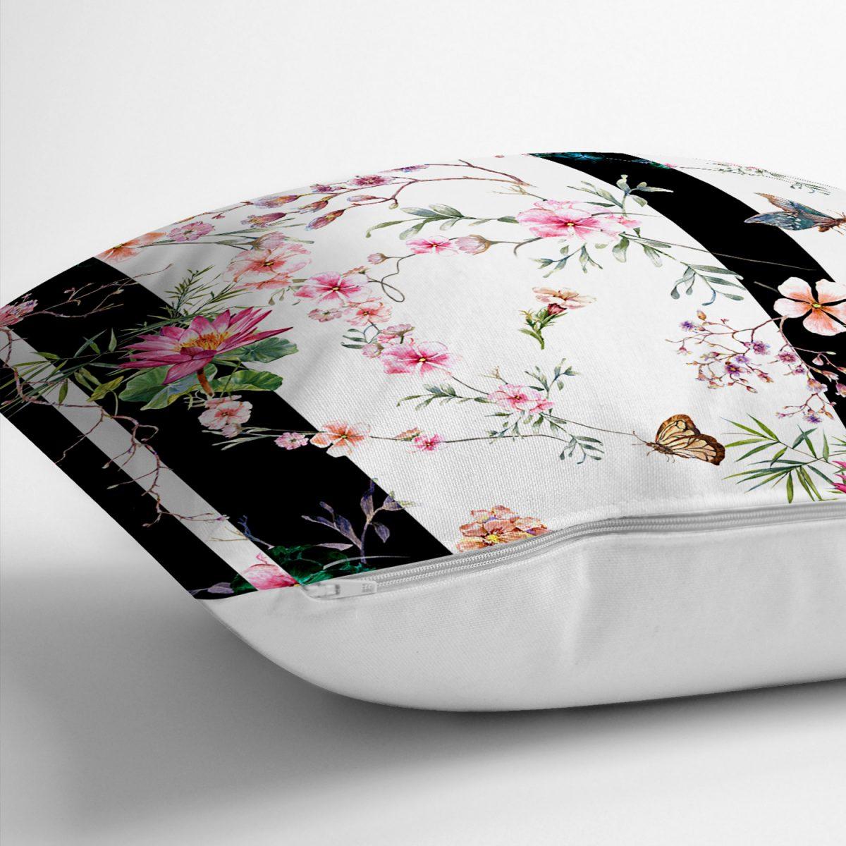 Realhomes Mıda Summer Özel Serisi Dijital Baskılı Modern Yastık Kırlent Kılıfı Realhomes