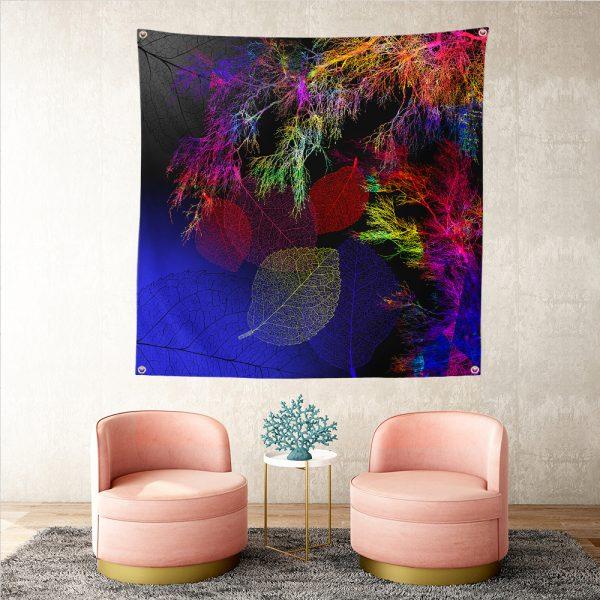 RealHomes Moda Özel Tasarım Dijital Baskılı Modern Tasarım Tapestry Duvar Örtüsü Realhomes