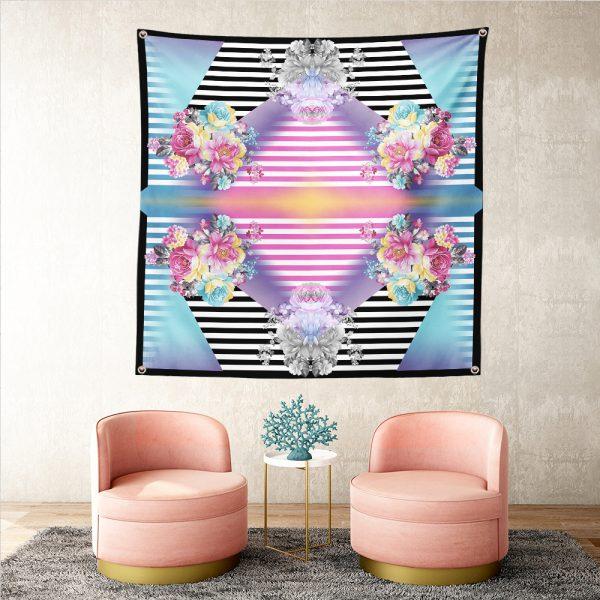 RealHomes Moda Özel Tasarım Dijital Baskılı Tapestry Duvar Örtüsü Realhomes