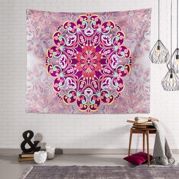 Realhomes Özel Tasarım Modern Dijital Baskılı Tapestry Duvar Örtüsü Realhomes
