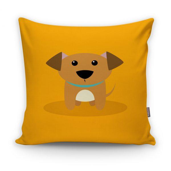 Realhomes Köpek Desenli Dijital Baskılı Modern Kırlent Kılıfı Realhomes
