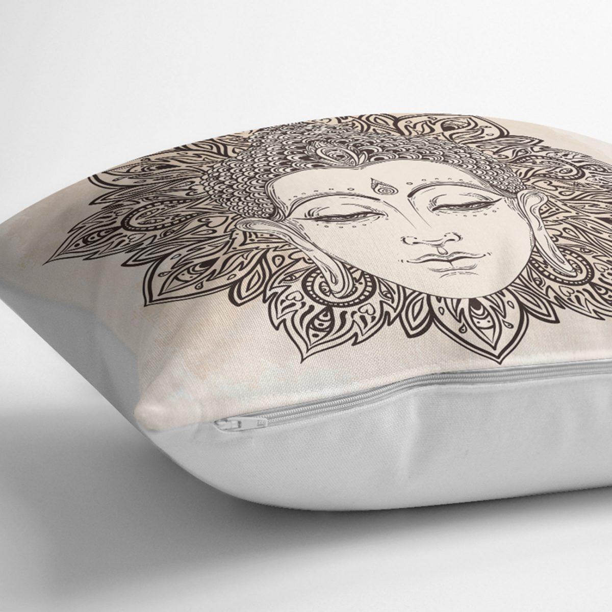 Realhomes Dijital Baskılı Özel Tasarım Dekoratif Modern Kırlent Kılıfı Realhomes
