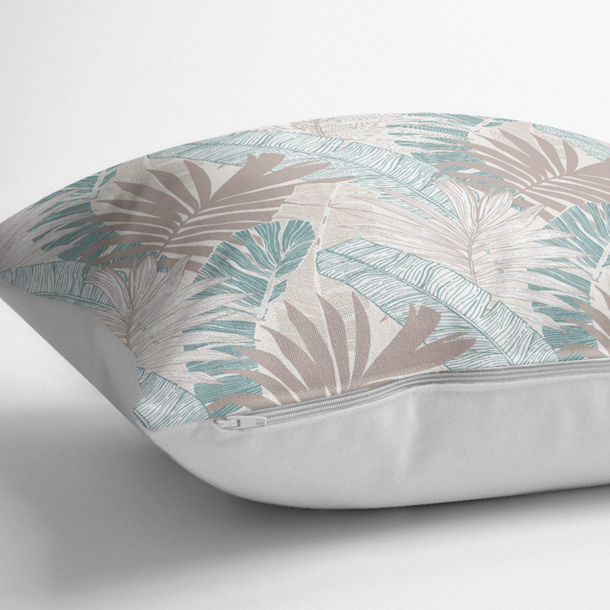 Modern Floral Desen Baskılı RealHomes Özel Tasarım Kırlent Kılıfı Realhomes
