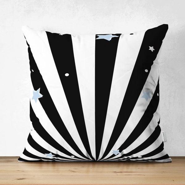 Realhomes Çift Taraflı Özel Tasarımlı Dijital Baskılı Çocuk Odası Süet Yastık Kırlent Kılıfı Realhomes