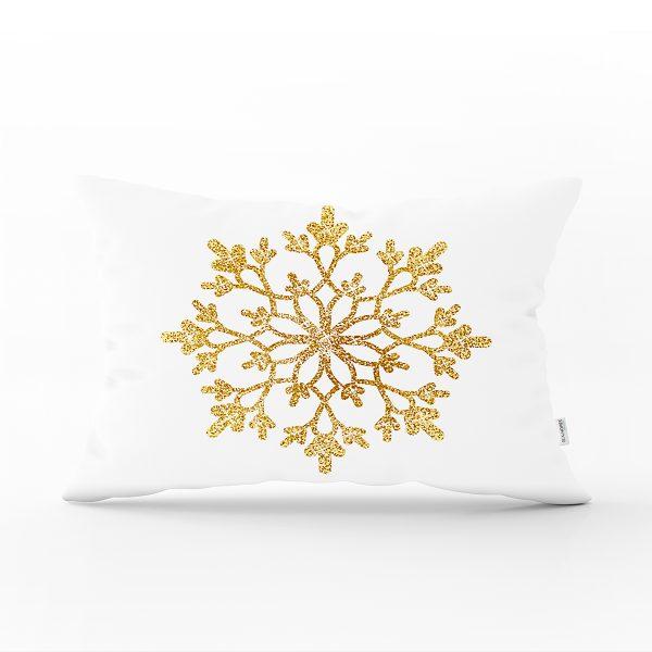 Beyaz Zeminli Renkli Kalp Desenli Dijital Baskılı Modern Dikdörtgen Yastık Kırlent Kılıfı Realhomes